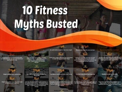 10 Fitness Myths Busted - Curious Keeda