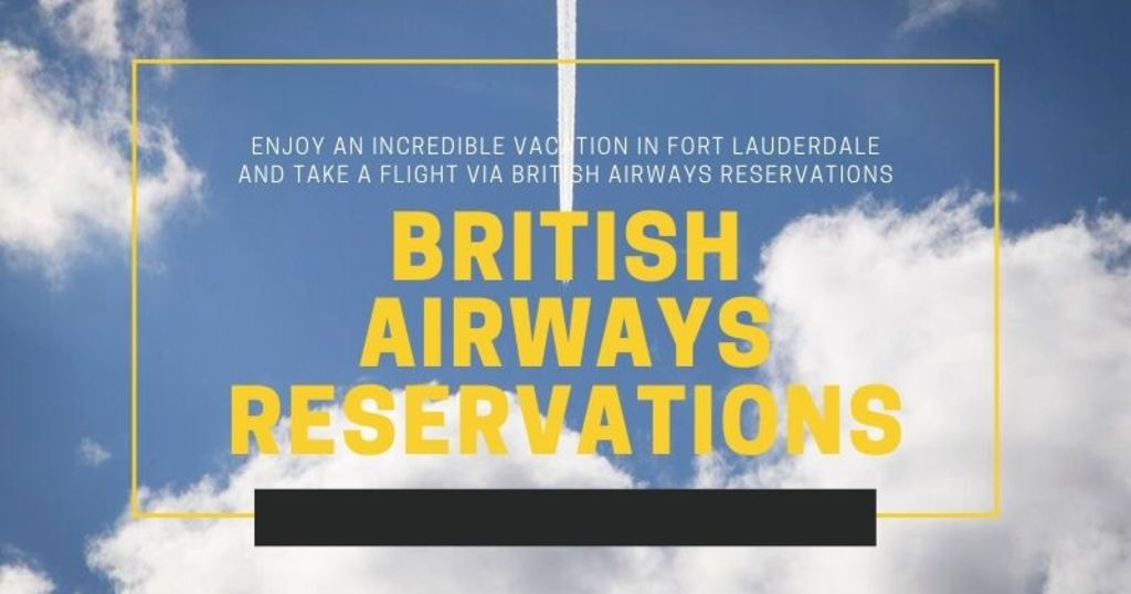 Enjoy an incredible vacation and take a flight via British A... via nickolas smith
