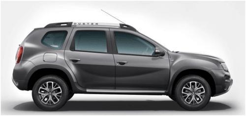 Renault Duster in Slate Grey Color via Manas Sharma