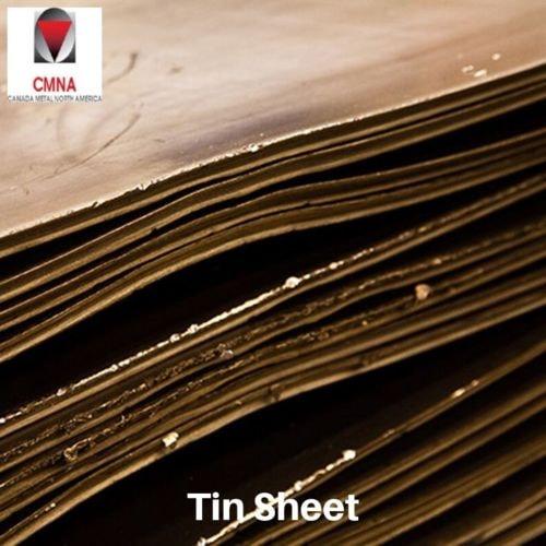 Pure Tin Sheet for Gamma Shielding by Canada Metal                                     Canada Me... via Canadametal