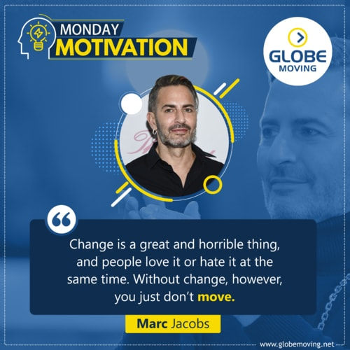 #MondayMotivation via Globe Moving