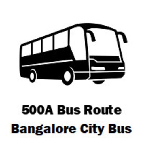 500A BMTC Bus route Banashankari to Hebbal                                     500A BMTC Bus rou... via routemaps