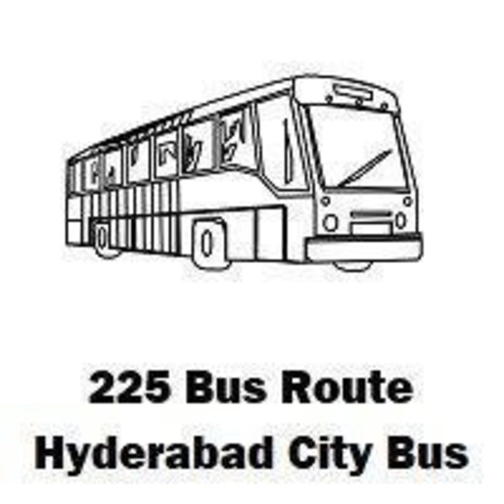 225 Bus route Hyderabad Patancheru Bus Stop to Koti Bus Stop... via routemaps