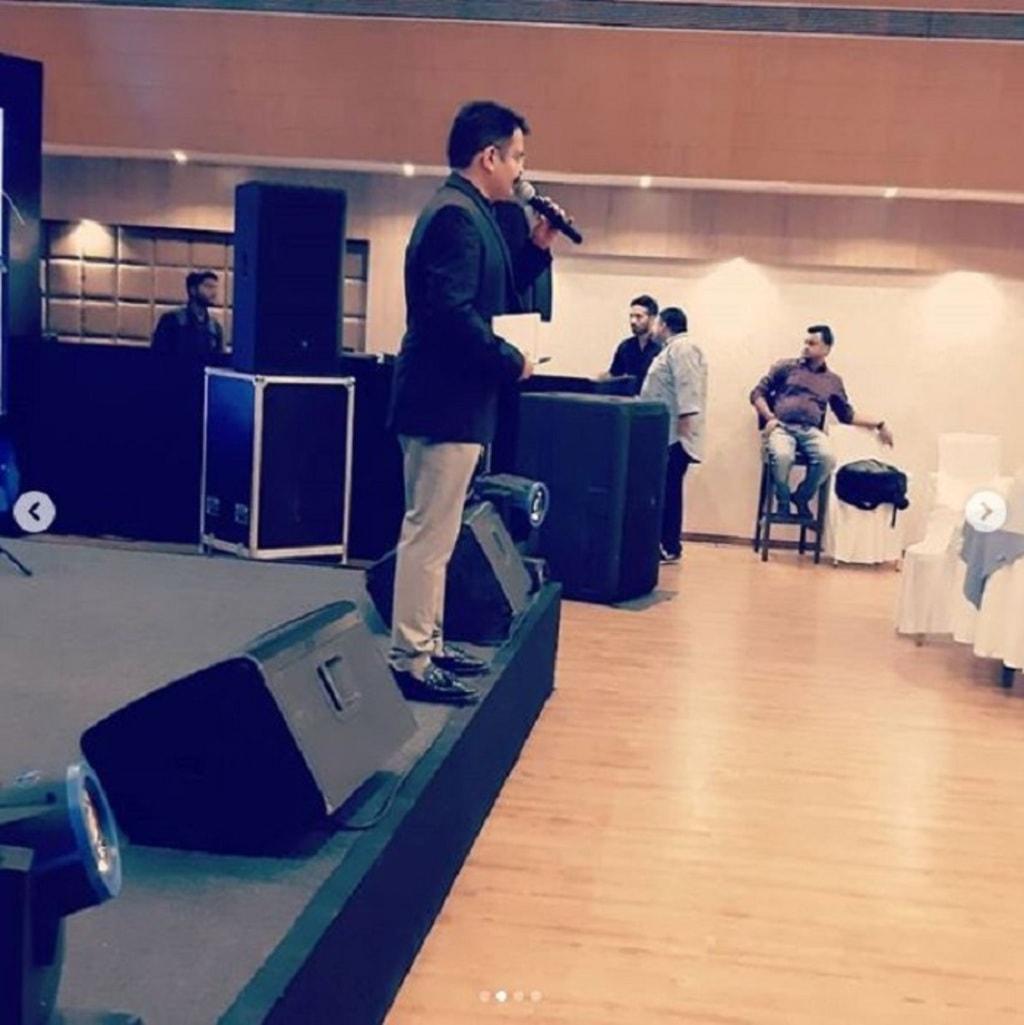 Sumit Kharbanda Performed at Mitsui Chemicals Annual Corpora... via Sumit Kharbanda