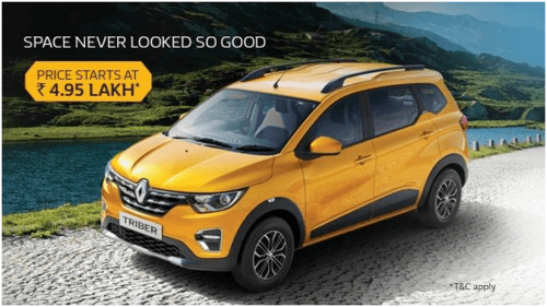 New Renault TRIBER is here to take India by storm via Manas Sharma