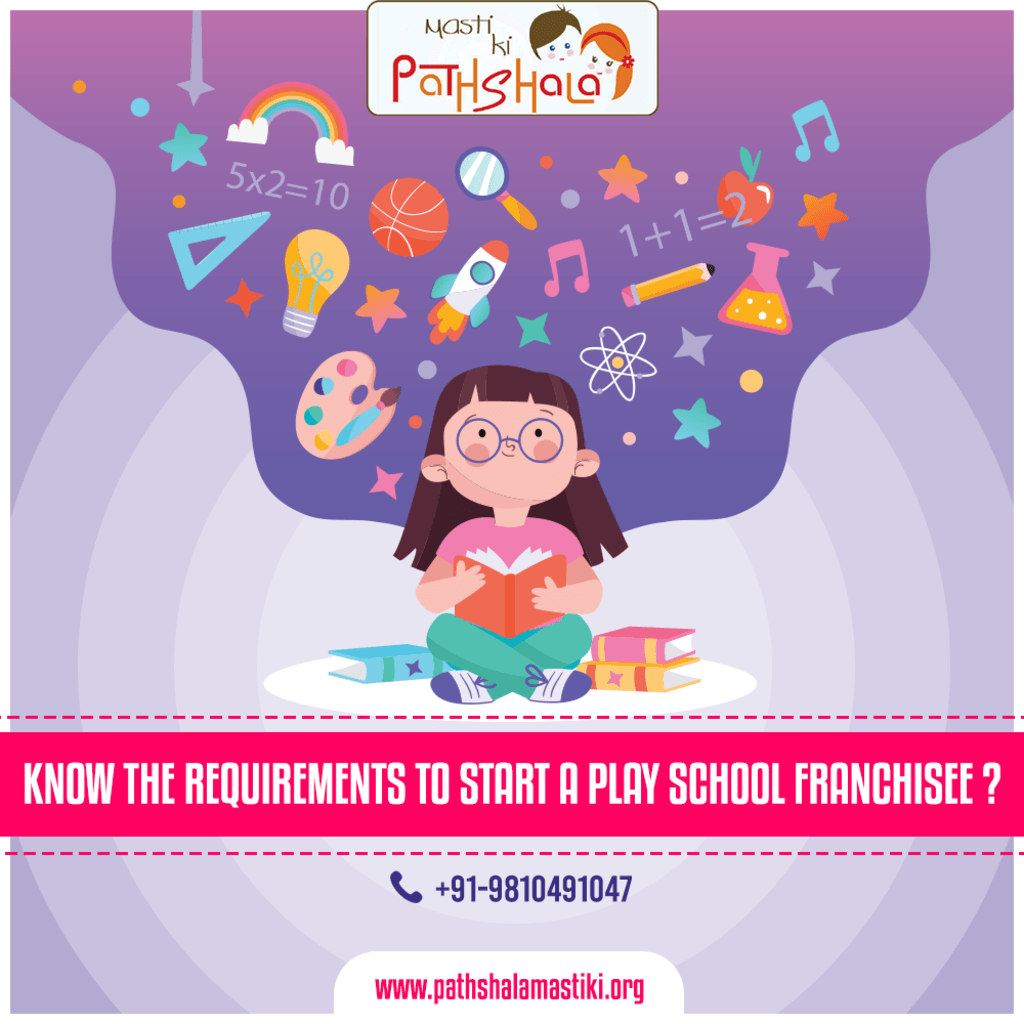 Know the Requirements to Start a Play School Franchisee?                                                                                  Op... via Pathshala Masti Ki
