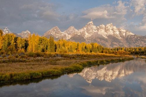 Autumn in the Tetons via Stacy White