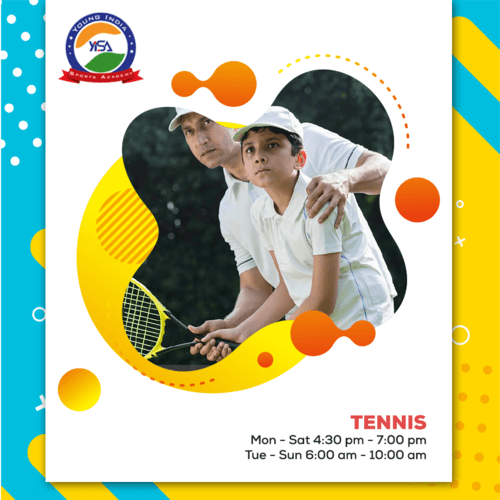 Tennis Coaching via yisa india