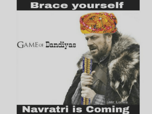 10 Navratri Memes!! - Curious Keeda