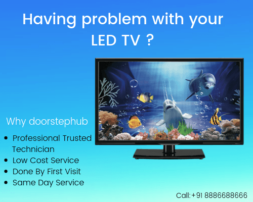 4 Common problems with LED TV - LED TV Repair Services