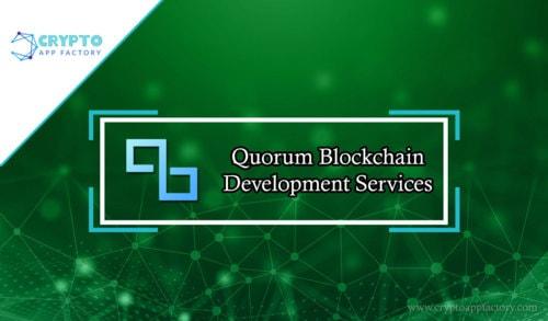 Quorum Blockchain Development -cryptoapp factory                                                                                  Quorum is ... via CryptoappFactory