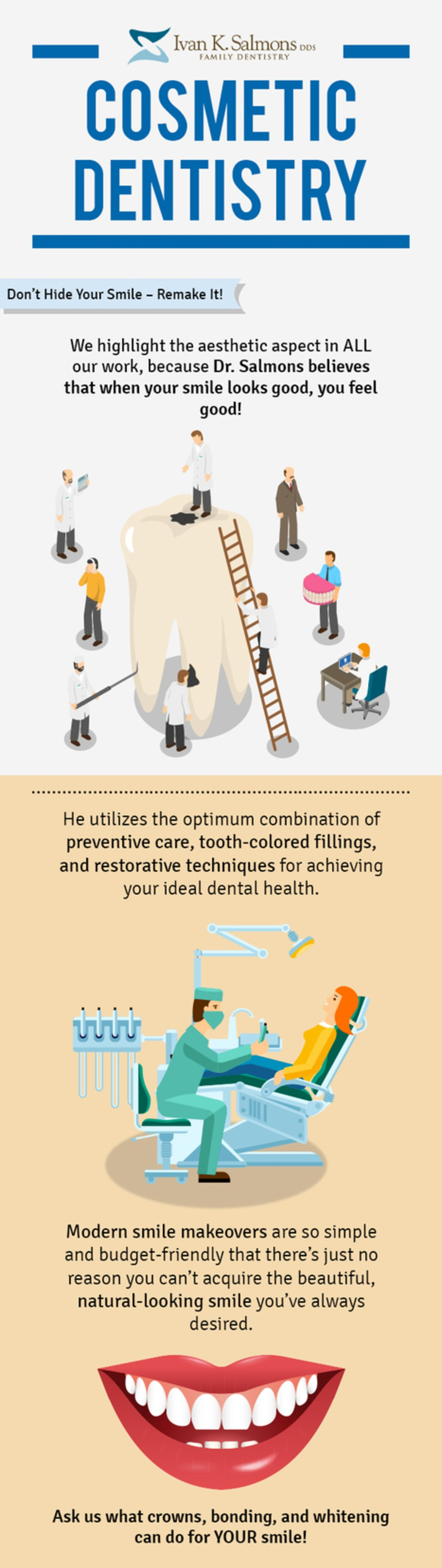 Dr. Ivan K. Salmons, DDS – Your Trusted Cosmetic Dentistry S... via Ivan K. Salmons DDS