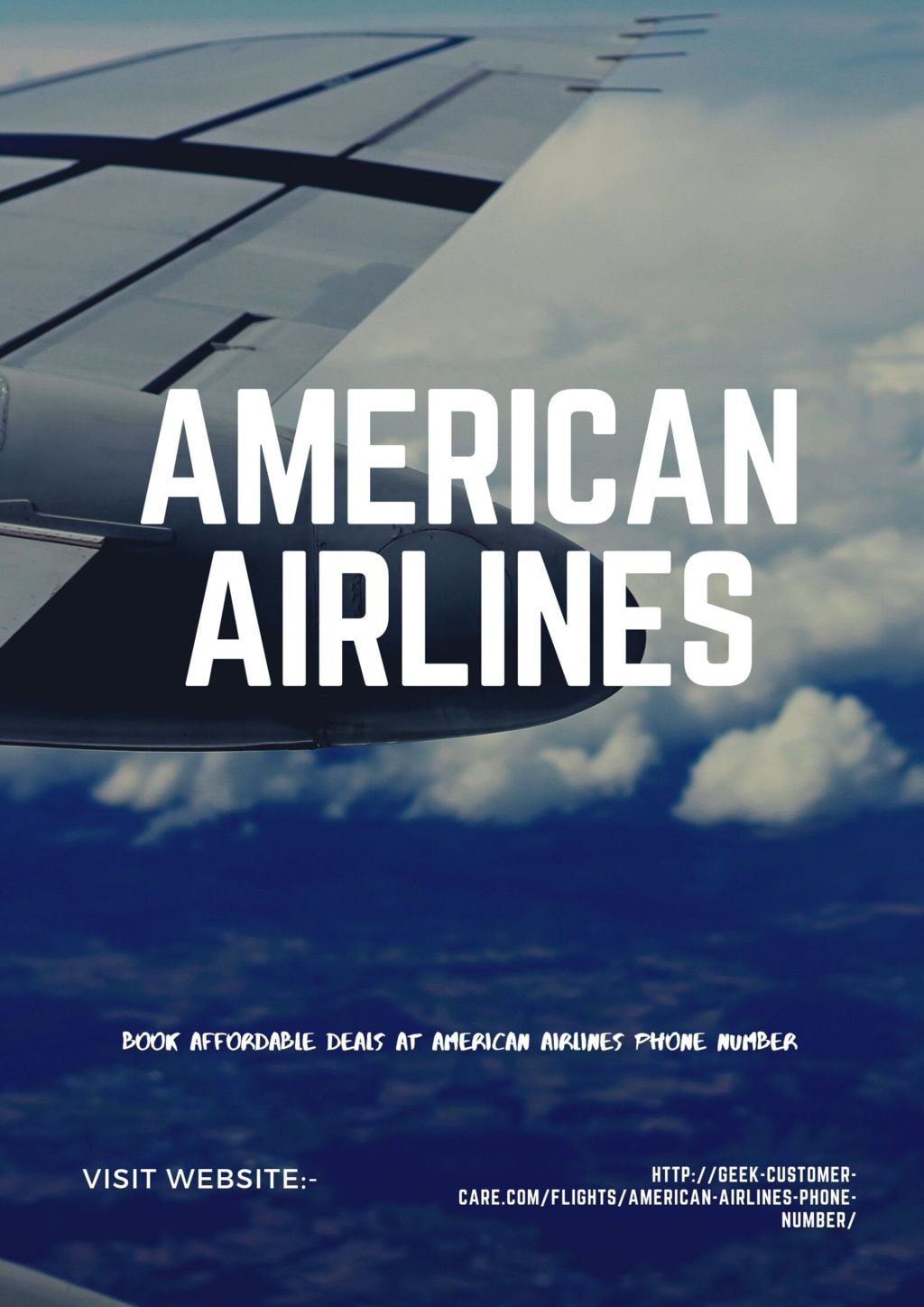 Book Affordable deals at American Airlines Phone Number via Harry Thomas