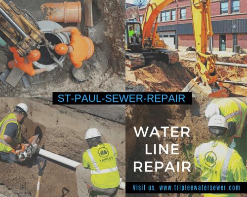 Water Line Repair via Andrew Rice