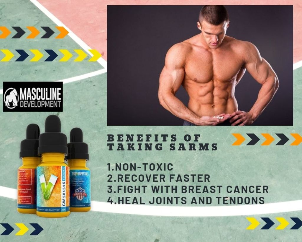 Top Benefits of Taking RAD140 SARM via Masculine Development