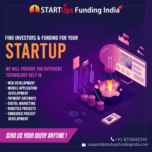 Find Investors & Funding for your Startup via Startup Funding India