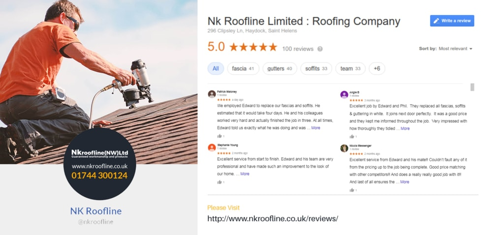Welcome to NK Roofline Services(NW) Ltd. Nk roofing provides... via NK Roofline Services(NW) Ltd