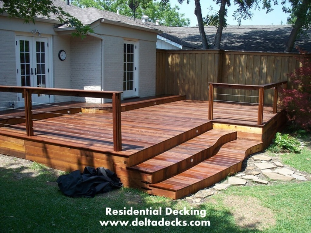 Residential Decking via andrewstanley