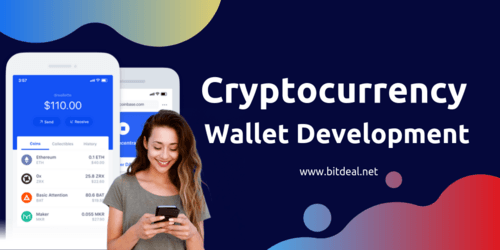 Cryptocurrency Wallet Development Services Company | Bitdeal