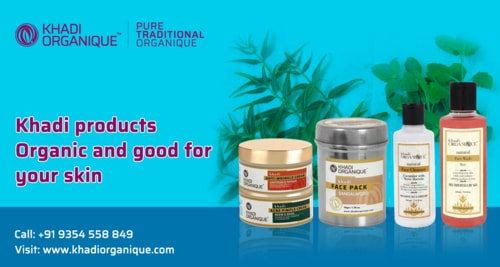 Khadi products Organic and good for your skin - Khadi Organique
