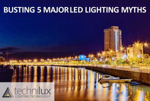 Busting 5 Major LED Lighting Myths
