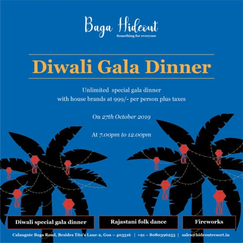 Gala Diwali Celebrations. via Hideout Resorts