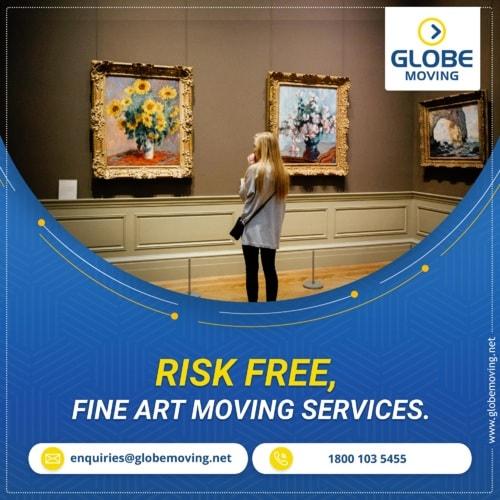 Risk-free, Fine Art Moving Services. via Globe Moving