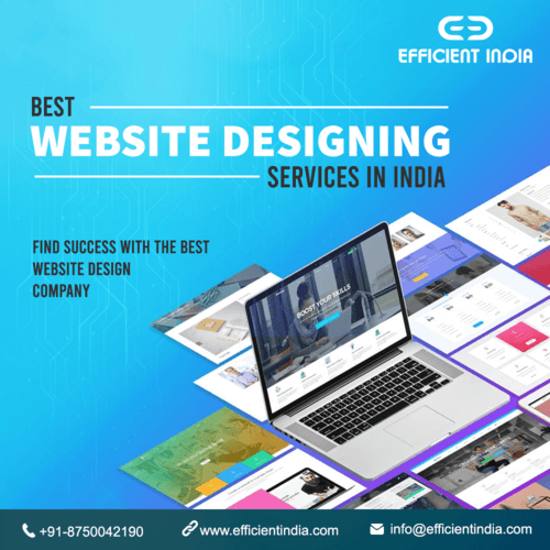 As a leading website design company in India, we offer high-... via Efficient India