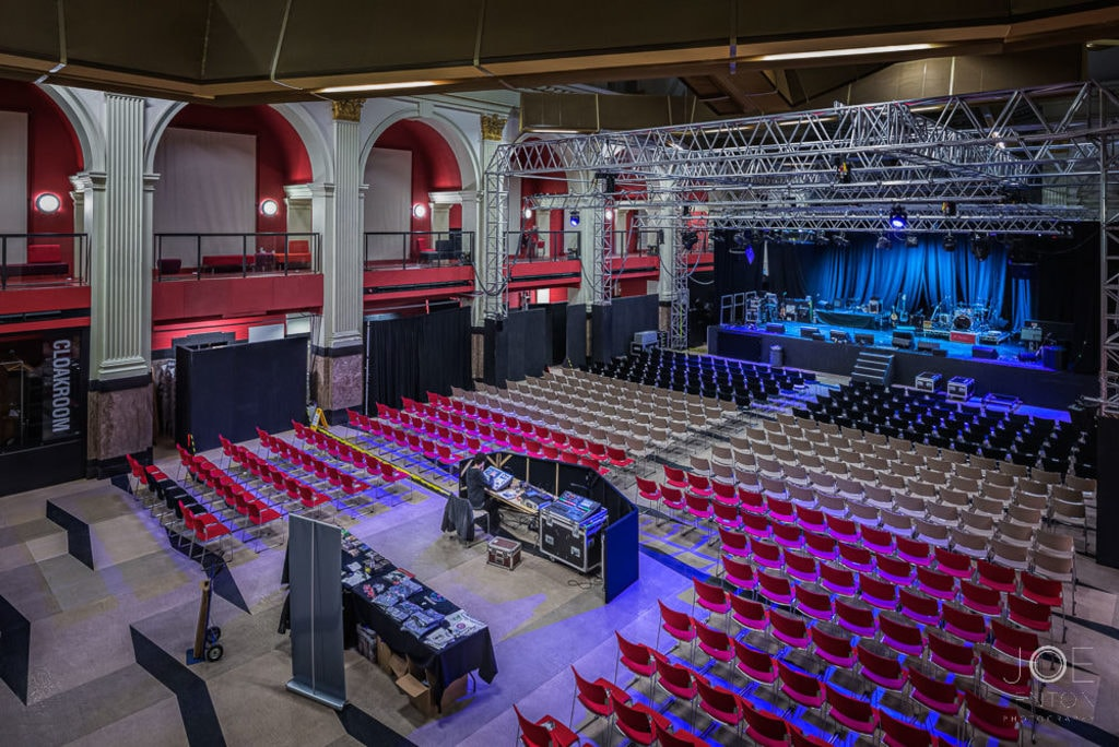 Looking down over the concert hall at Open in Norwich shot l... via Joe Lenton