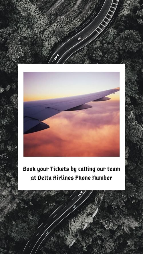 Book your Tickets by calling our team at Delta Airlines Phon... via Harry Thomas