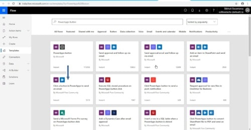 Send Email using MSFlow On Button Click from PowerApps - Softree Technology
