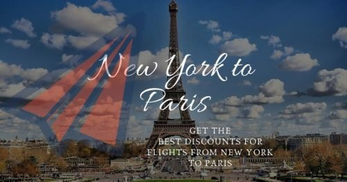 Get the best discounts for flights from New York to Paris via nickolas smith