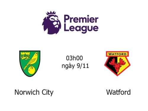 Link Sopcast, Acestream trận đấu Norwich City vs Watford 03h... via TructiepVip