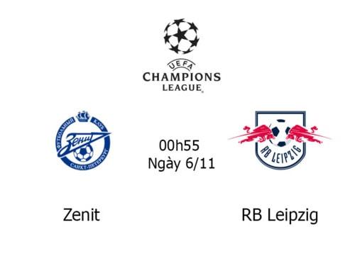 Link Sopcast, Acestream trận đấu Zenit vs RB Leipzig 00h55 n... via TructiepVip