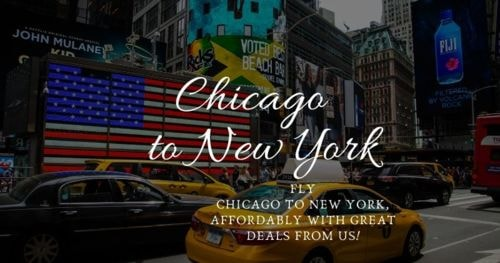 Fly Chicago to New York, affordably with great deals from us... via nickolas smith