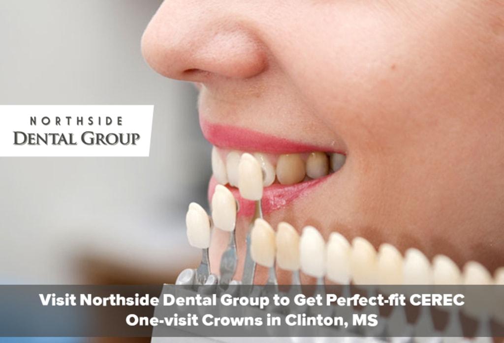 Visit Northside Dental Group to Get Perfect-fit CEREC One-vi... via Northside Dental Group