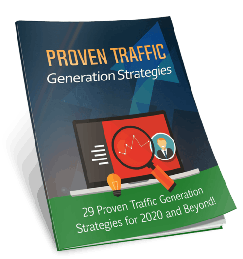 Proven Traffic Generation Strategies PLR eBook with Squeeze Page