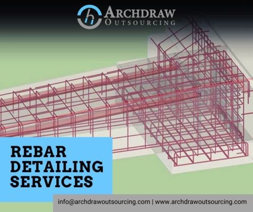 Rebar Detailing Services by Archdraw Outsourcing via Archdraw Outsourcing