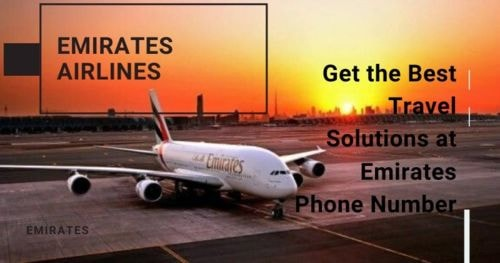 Get the Best Travel Solutions at Emirates Phone Number via Harry Thomas