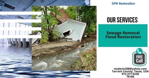 Water Damage Removal Company Tarrant County TX via jennifer john
