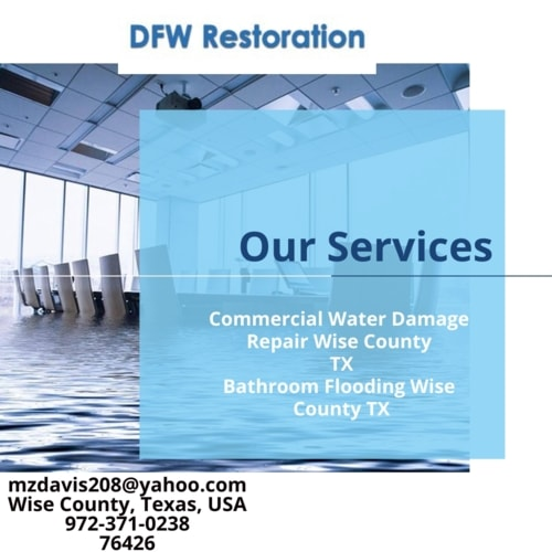 Residential Water Damage Repair Wise County TX via jennifer john