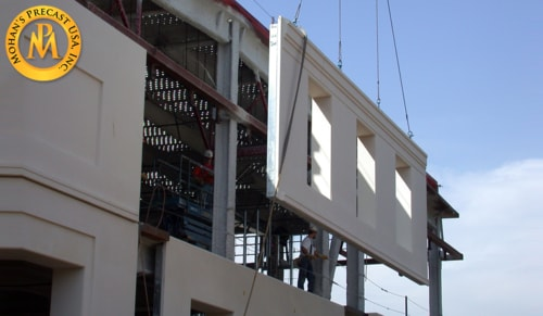 Precast concrete manufacturers via mohansprecast