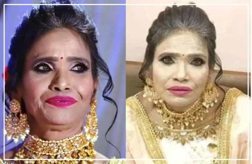 Watch Ranu Mandal's Real Makeup Pictures Shared By Makeup Artist Sandhya | Flypped