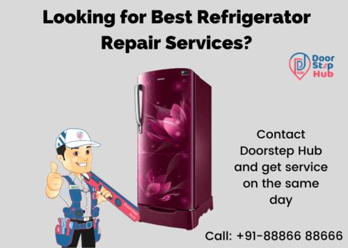 Get best Panasonic refrigerator repair service center by cal... via doorstep