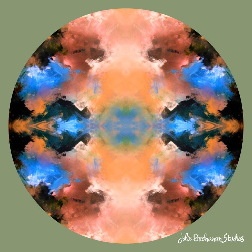 Mandala for the Day via Jolie Buchanan