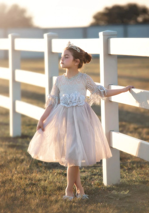 Change The Collection In Your Daughter's Wardrobe, Shop Trendy Toddler Flower Girl Dresses