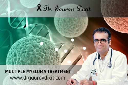 Diagnosed with multiple myeloma, consulting a Hematologist h... via Dr Gaurav Dixit