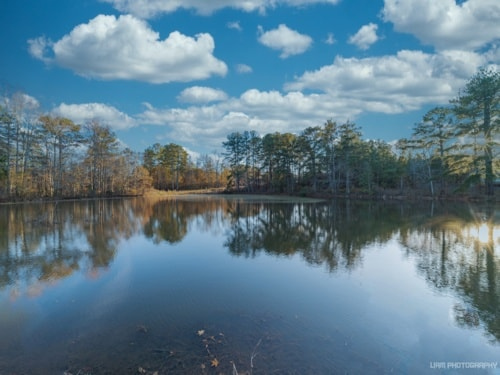 Little Lake in Temple, GA this afternoon. Captured with the ... via Liam Douglas - Professional Photographer