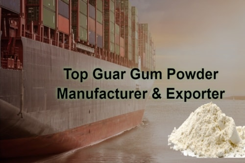 Top 5 Guar Gum Powder Manufacturer & Exporter via Zhen Henry