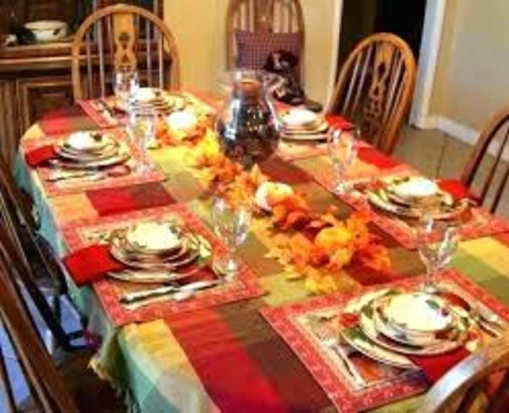 Thanksgiving dining ideas via Leo Erwin Garcia